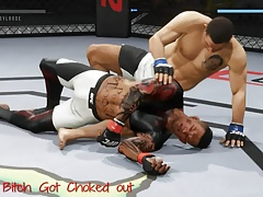 UFC 2: Guys beating me like a bitch.