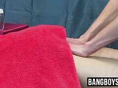 Cute twinks sensual massage fuck