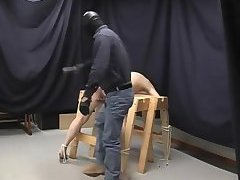 Gay butt spanked