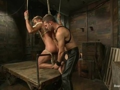 Connor Patricks and Hayden Richards enjoys hot BDSM sex