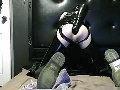 PT1: Sydney Sub Slut: ANAL DESTRUCTION - Big Toys + Fisting