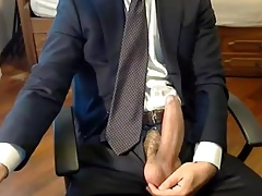 hot big dick in suits