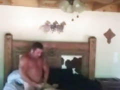 daddy fuck a young boy in bedroom