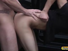 Phenix is fucking Tino hard in the ass with a rock hard dick