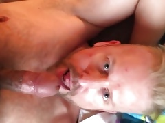 blond suck very well