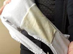 Masturbating in panties 13
