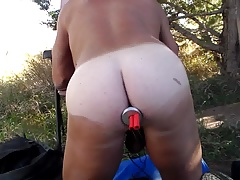 Outdoor E-Stim Butt Plug 1 of 2