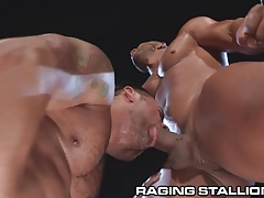 RagingStallion Bruno Bernals Hole Stuffed with Big Cock