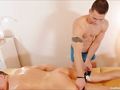 Dick Casey and Ryan Torres Gay Fucking Hard On Massage