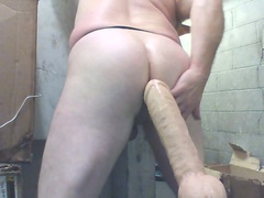 JoeyD- my anal F'n machine back,gonna use NEW MONSTER COCK