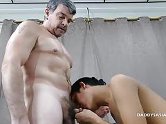 Daddy Barebacks Asian Boy Freddy