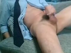 Chinese guy jerking
