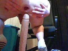 I fuck my Huge Rambone Dildo