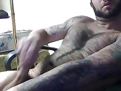 Hairy wanking 8917