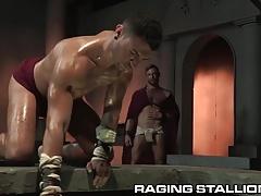 RagingStallion Greek Like Muscle Gods Eat Ass