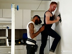 NextDoorEbony Redhead Topped by Long Black Dick