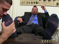 Hugh Hunter Worshiped Feet