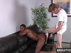 Big dick son interracial with cumshot