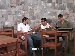 Hot Latin Threesome