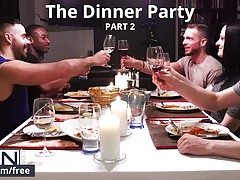 Men.com - Matthew Parker and Teddy Torres - The Dinner Party