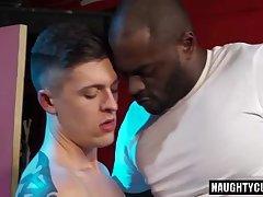 Tattoo gay oral sex with cumshot