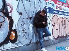 RAWEURO Bareback Threesome Fuck With Nasty Euro Jocks