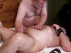 Inexperienced whopper bondage & oral