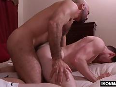 Well hung gay fucks tight ass