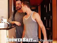 ShowerBait - Horny Boyfriends Fuck & cum Part 1