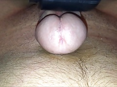 close up vibrator cum thick load