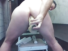 Squirting Butthole Straight Dude JoeyD Anal