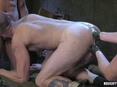 Hot military fetish and cumshot
