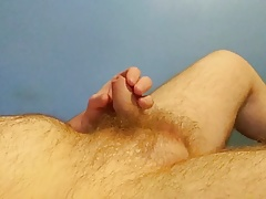 Teasing my small soft dick