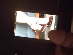 Cumming on Daisy Ridley's Feet in Heels