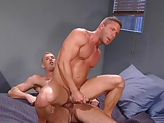 Pleasured with a real cock