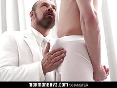 Virgin missionary stroked and sucked by priest daddy