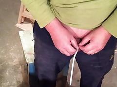 Handwerker Katheter um meine Pisse rauszulassen