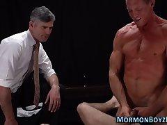 Mormon hunk barebacking