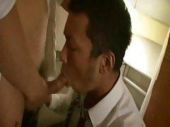 Japan office men hot sex