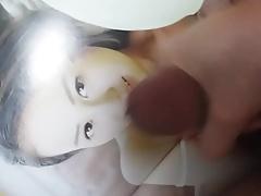 Cumming for sexy Chinese model Seasun