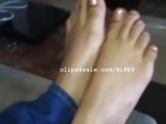 Foot Fetish - Brandy Feet Video 4
