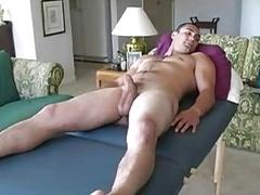 Massage & blow off str8 guy
