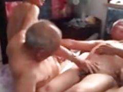 Mature Asian Group sex