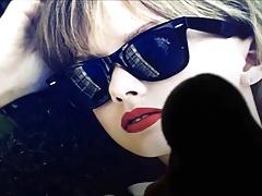 Taylor Swift Splashed Cum Tribute