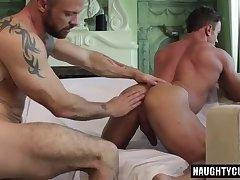 Russian gay flip flop and cumshot