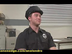 Officer Maguire Edged and Gets an Electric Buttplug