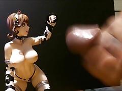Figure Bukkake - Cumming on Hanako 2