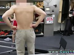 Naughty guy in a gym