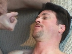 Two horny queers lick each other's butts and bang in cowboy position