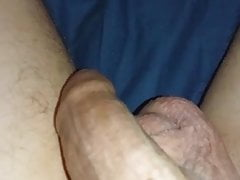 Jerking in the bed